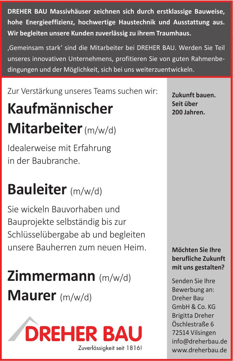 Dreher Bau GmbH & Co. KG Vilsingen