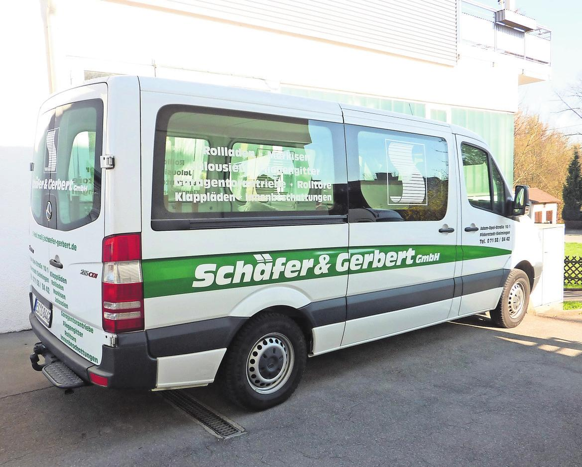 Immer für den Kunden im Einsatz: die Firma Schäfer & Gerbert in Sielmingen. Foto: z