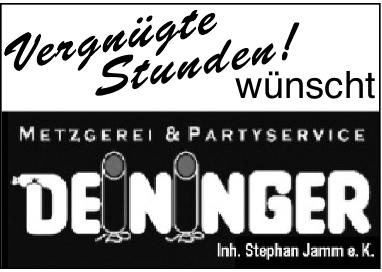 Metzgerei und Partyservice Deininger
