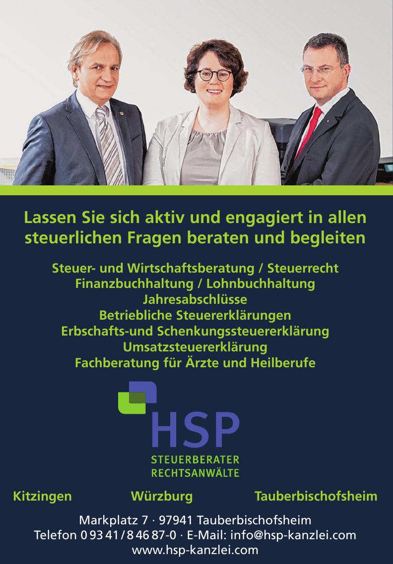 HSP Steuerberater - Rechtsanwälte