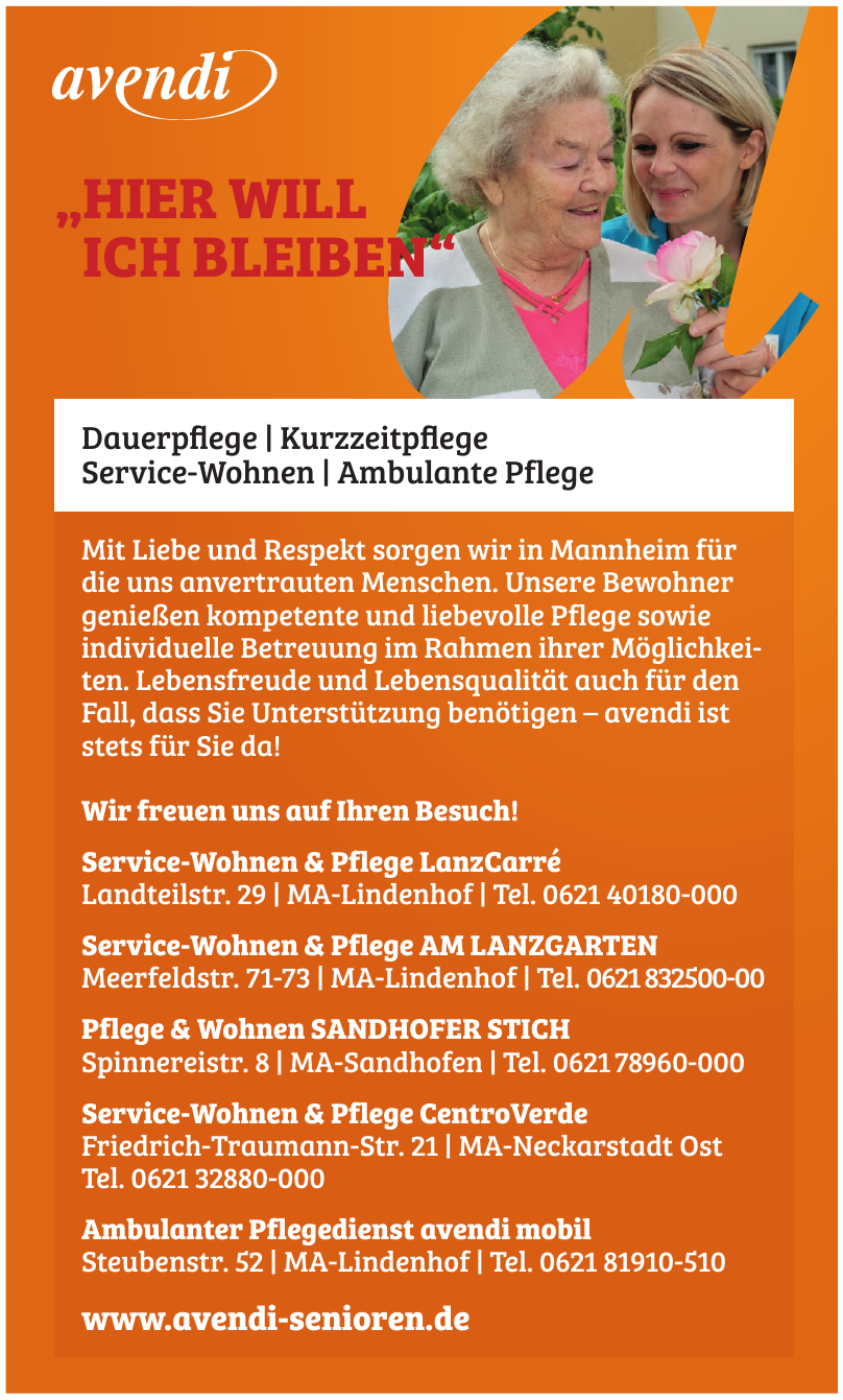 Service-Wohnen & Pflege LanzCarré