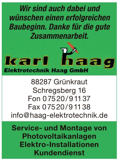 Elektrotechnik Haag GmbH