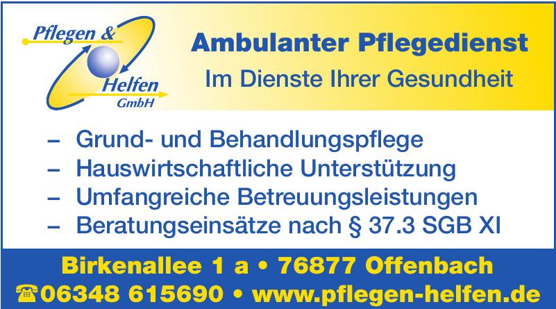 Pflegen & Helfen GmbH