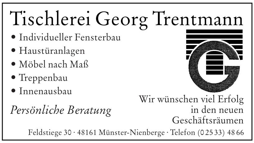 Tischlerei Georg Trentmann