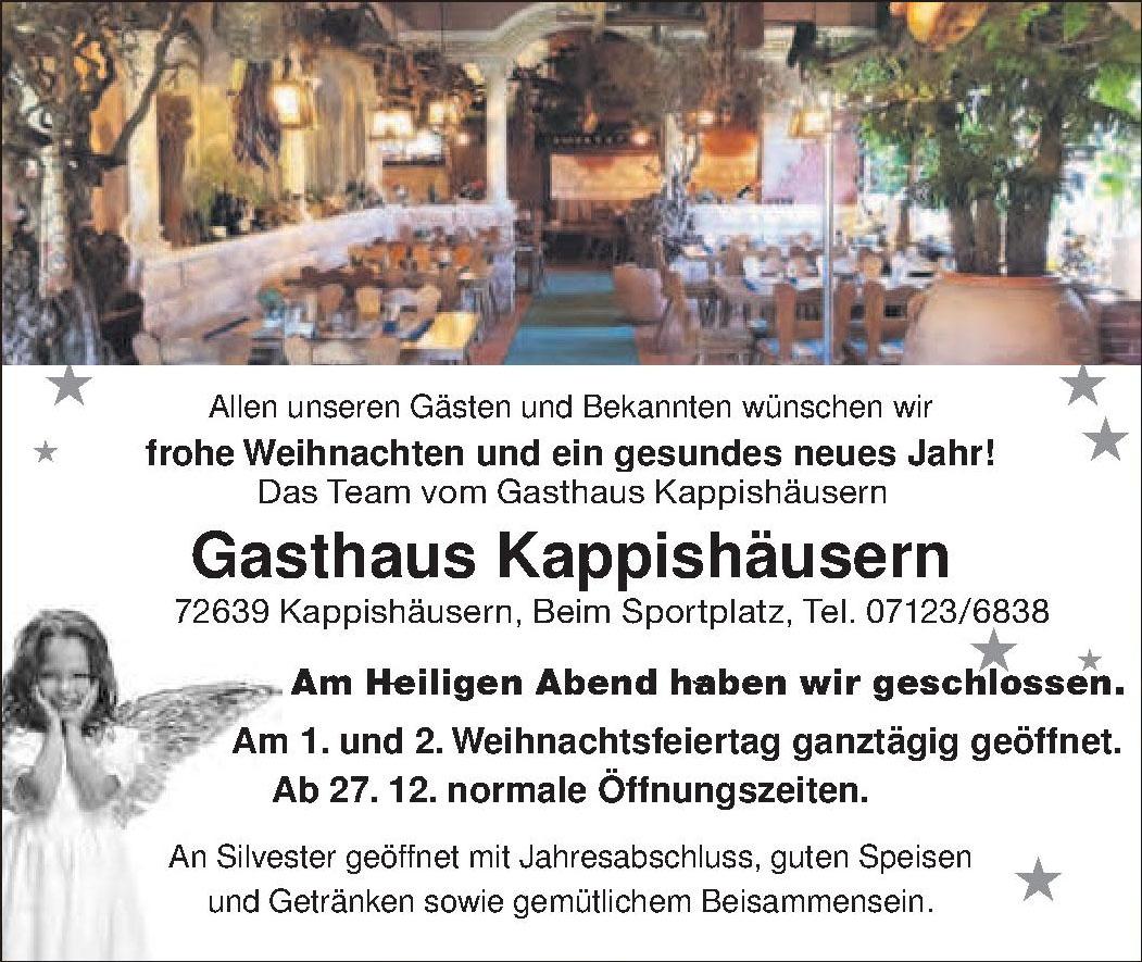 Gasthaus Kappishäusern
