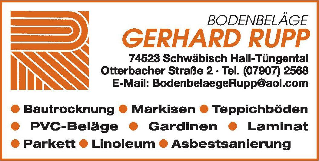Gerhard Rupp Raumgestaltung