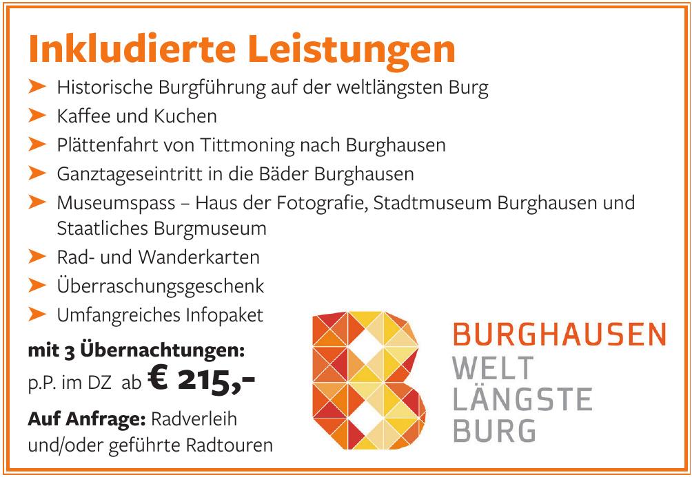 Burghausen - weltlängste Burg