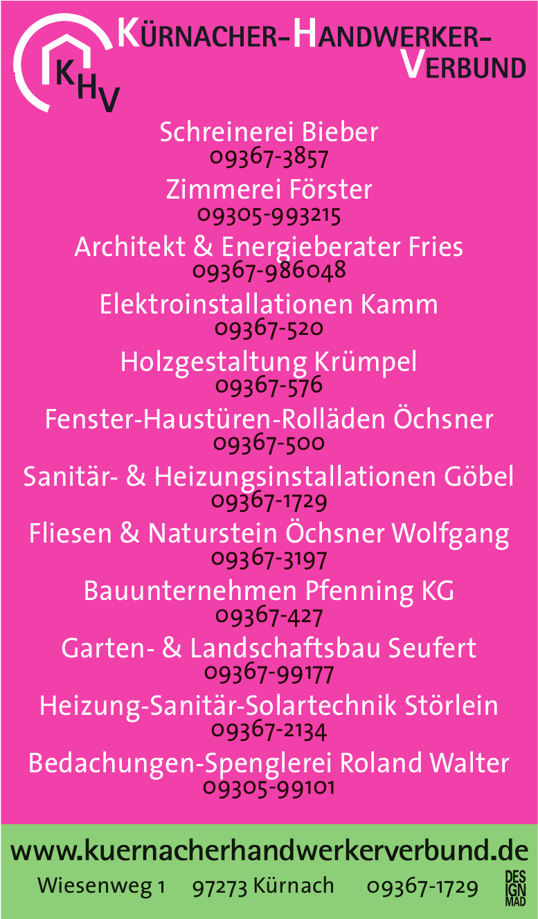 KHV Kürnacher-Handwerker-Verbund