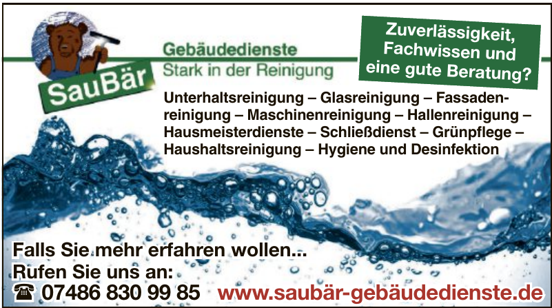Saubär Gebäudedienste