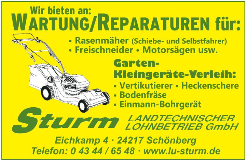 Sturm landtechnischer Lohnbetrieb GmbH