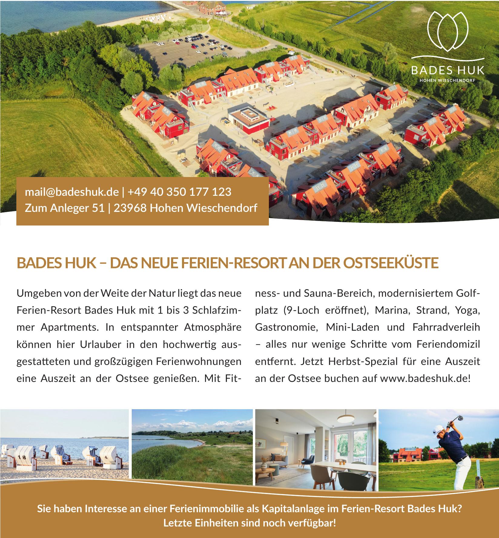 Ferien-Resort Bades Huk