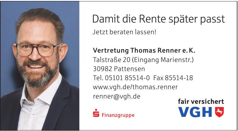 VGH Vertretung Thomas Renner e.K