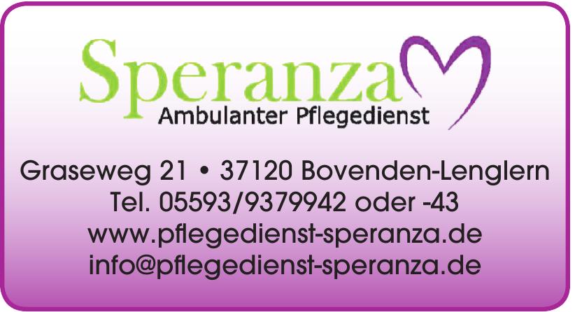 Speranza Ambulanter Pflegedienst
