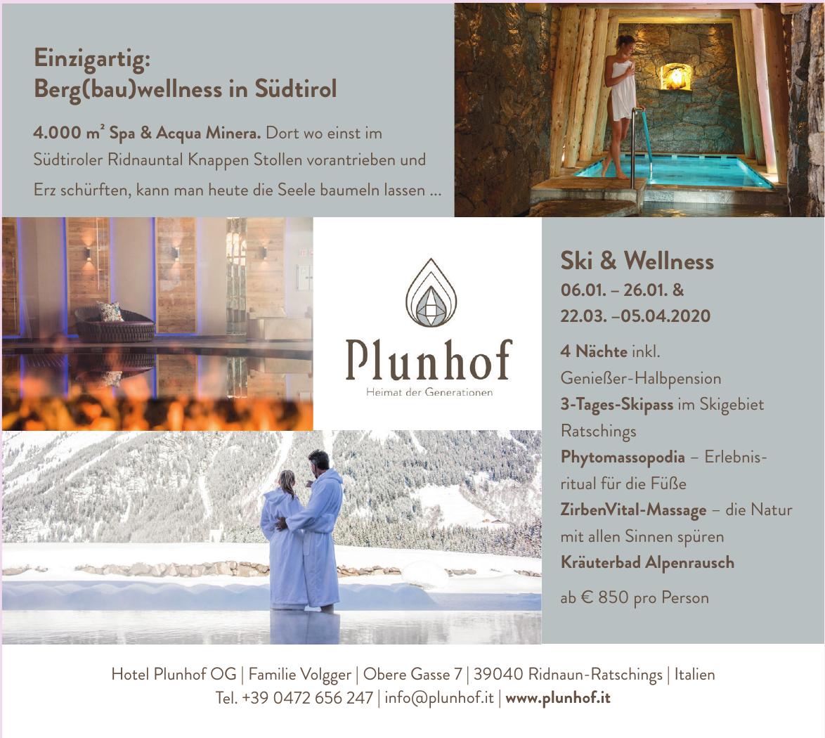 Hotel Plunhof OG