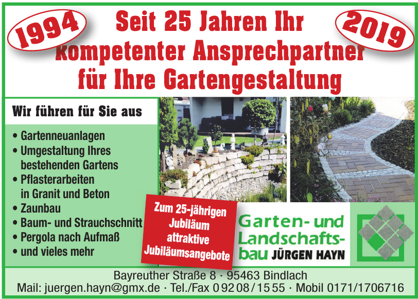 Jürgen Heyn Garten- & Lanschaftsbau