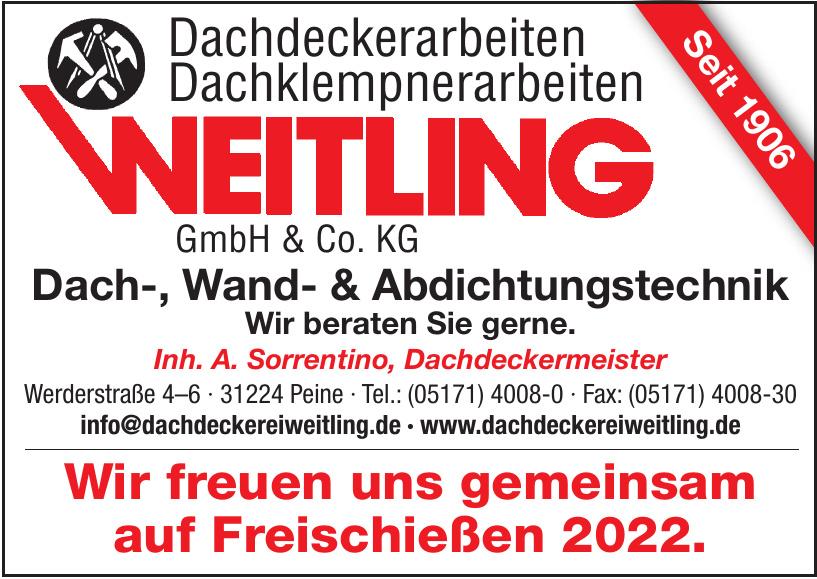 Dachdeckerarbeiten Bauklempnerarbeiten Weitling GmbH & Co. KG