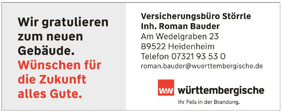 Versicherungsbüro Störrle - Württembergische