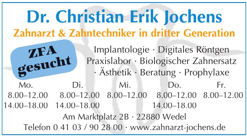 Dr. Christian Erik Jochens