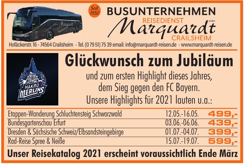 Reisedienst Marquardt Crailsheim GmbH