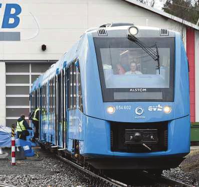Fährt mit Wasserstoff. Sechs iLint von Alstom sollen ab 2022 auf der RB 27 verkehren.