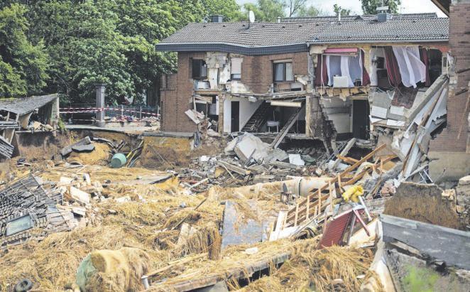 Der Juli hat uns allen sehr deutlich vor Augen geführt, wie schnell ein unerwarteter Schaden eintreten kann. Foto: dpa