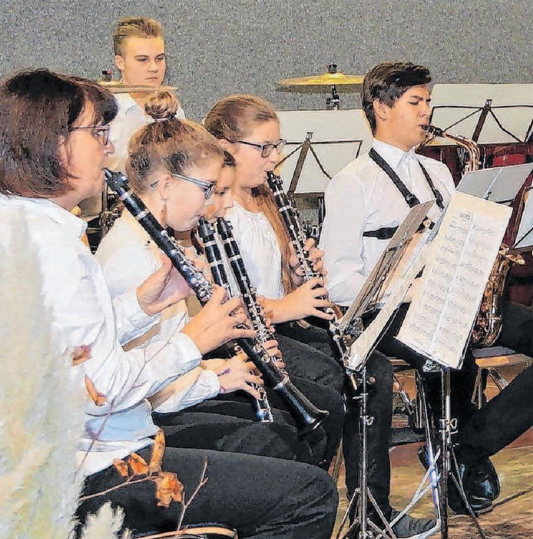 Die Jugend übernimmt den musikalischen Auftakt. Foto: Jörg Wahl