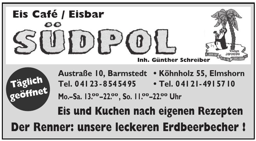 Südpol  Eis Café / Eisbar