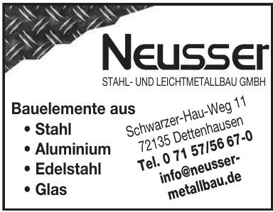 Neusser Stahl- und Leichtmetallbau GmbH