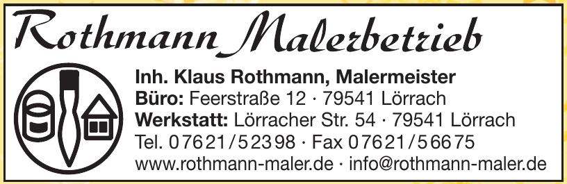 Rothmann Maler