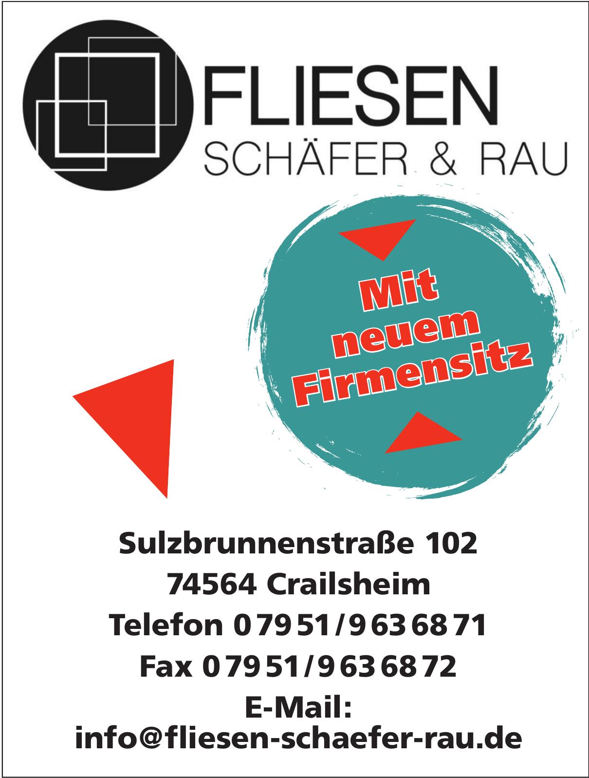 Fliesen Schäfer & Rau GbR