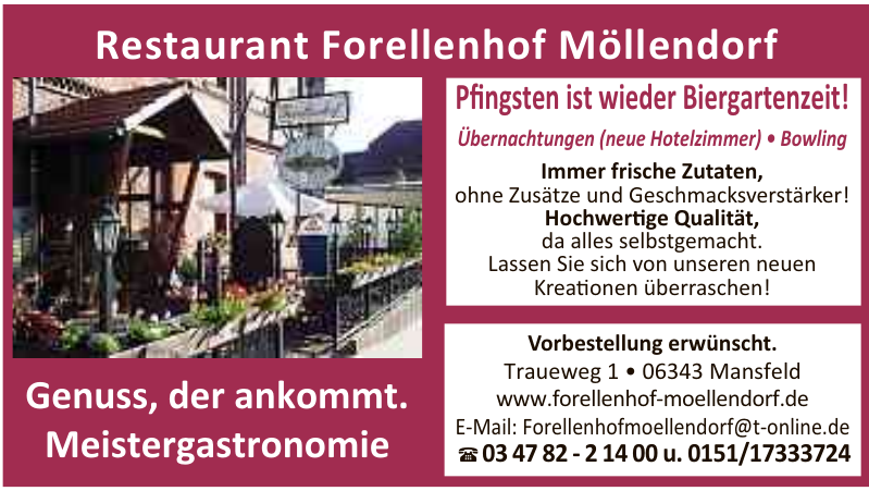 Restaurant Forellenhof Möllendorf