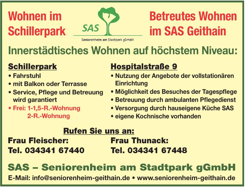 SAS – Seniorenheim am Stadtpark gGmbH