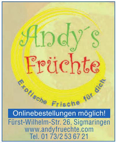 Andy's Früchte
