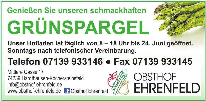 Obst- und Grünspargelhof Ehrenfeld