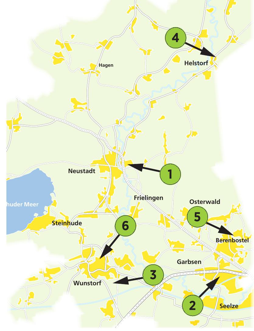 Die Adressen dieser Autohäuser und Werkstätten im Nordwesten der Region finden Sie auf dieser Seite.