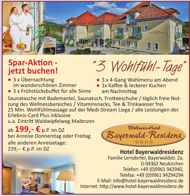 Hotel Bayerwaldresidenz