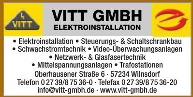 Vitt GmbH Elektroinstallation