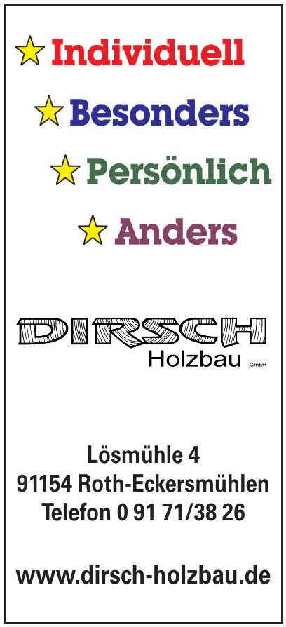 Dirsch Holzbau GmbH