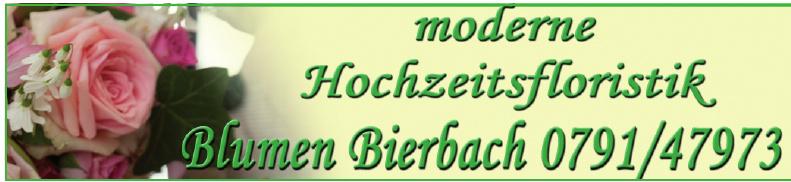 Blumen Bierbach