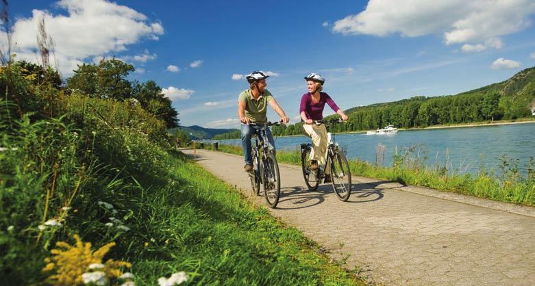 Auch mit dem Fahrrad lässt sich die Region erkunden.