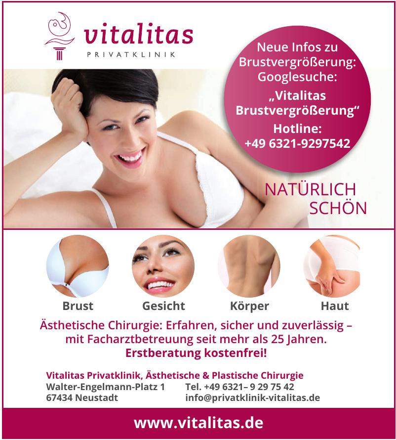 Vitalitas Privatklinik, Ästhetische & Plastische Chirurgie