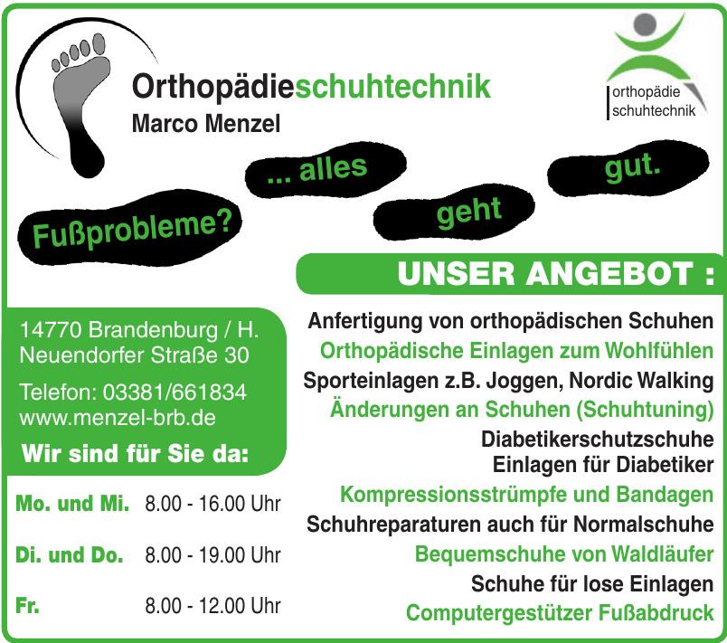 Orthopädieschuhtechnik Marco Menzel