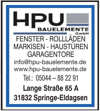 HPU Bauelemente GmbH