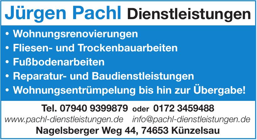 Jürgen Pachl Dienstleistungen