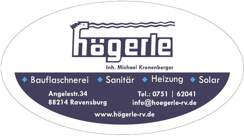 Högerle Sanitär-Heizung-Bauflaschnerei e.K.