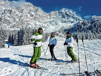 Bald beginnt die Zeit der Skiausfahrten. Hier waren die Skifahrer des VfL Munderkingen in Ehrwald.