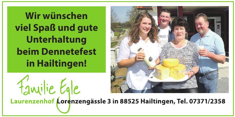 Familie Egle Laurenzenhof