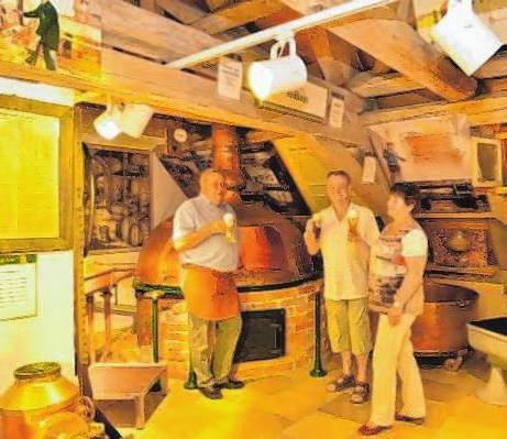 Das Brauereimuseum lässt den Besucher in die Welt des Bierbrauens in alten Zeiten eintauchen. Foto: Schlossbrauerei Autenried