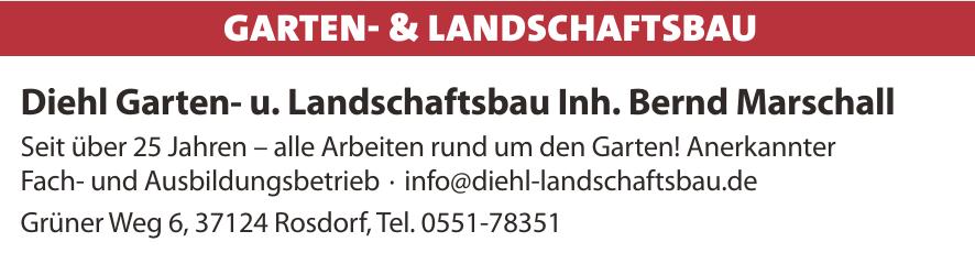 Diehl Garten- u. Landschaftsbau Inh. Bernd Marschall