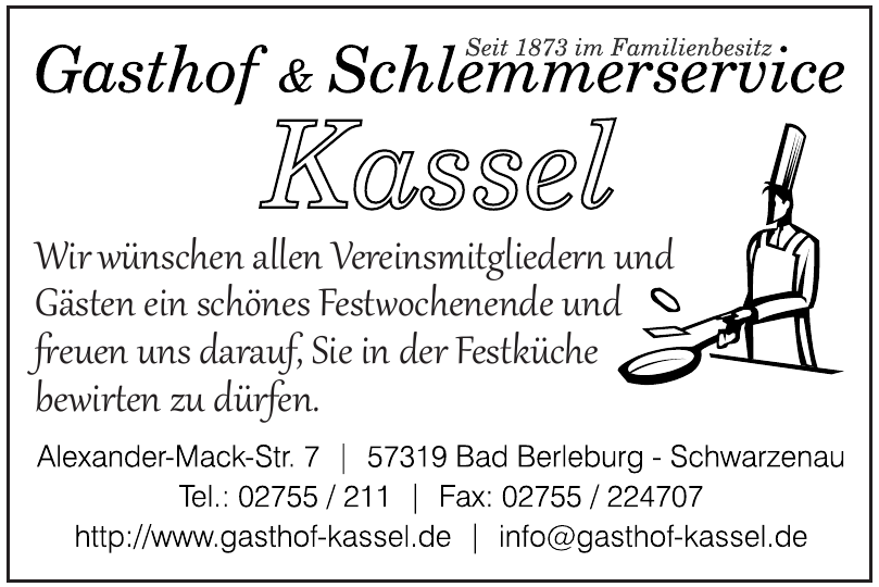 Gasthof - Pension - Schlemmerservice Kassel